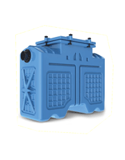 Caixa Separadora de Água e Óleo ZP-1000 - Hydro Z / Zeppini