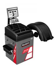 Balanceadora de Pneus com Acionamento Motorizado Aro 10 à 24 Freio a Disco Ponteiro Laser MAH-6002 - Mahovi