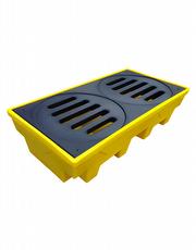 Pallet para Contenção de Vazamento - Para 2 Tambores