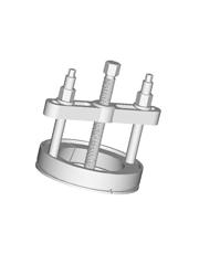 Extrator para o Rolamento Cônico Traseiro (Koyo 30312) do Eixo Intermediário dos Modelos L94, 114 e 124 (GR-900) - Raven