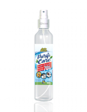 Higienizador e Desinfetante de Superfície Spray com Álcool Etílico 70°GL de 180ml Purifi Care AutoShine