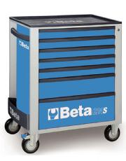 Carro Para Ferramentas com 7 Gavetas Azul - C24S - Beta
