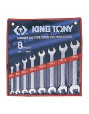 Jogo de Chaves Fixas Slim com 8 Peças - King Tony