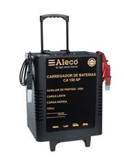 Carregador de Bateria 100Ah com Auxiliar de Partida - Alleco