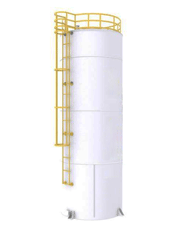 Tanque de Combustíveis Aéreo Vertical