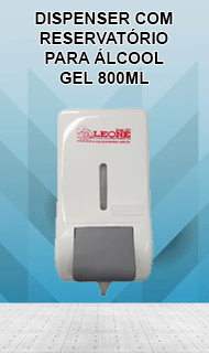 Dispenser para alcool gel
