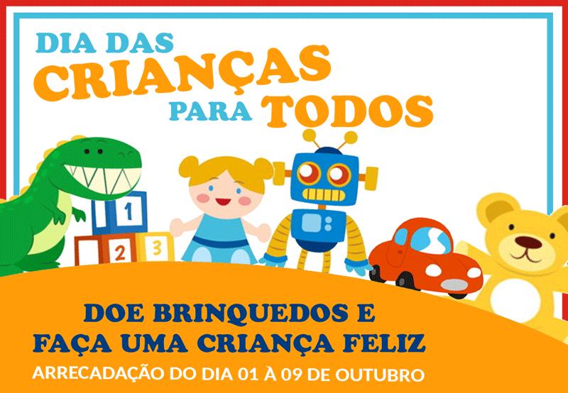 Campanha de Arrecadação de Brinquedos LEONE 2020.