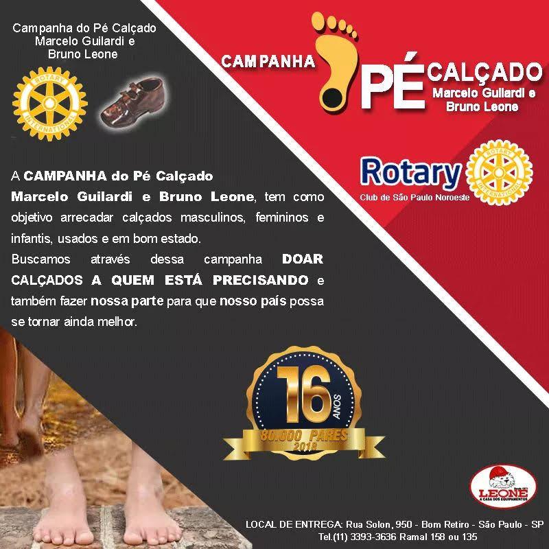 Campanha do Pé Calçado – Marcelo Guilardi
