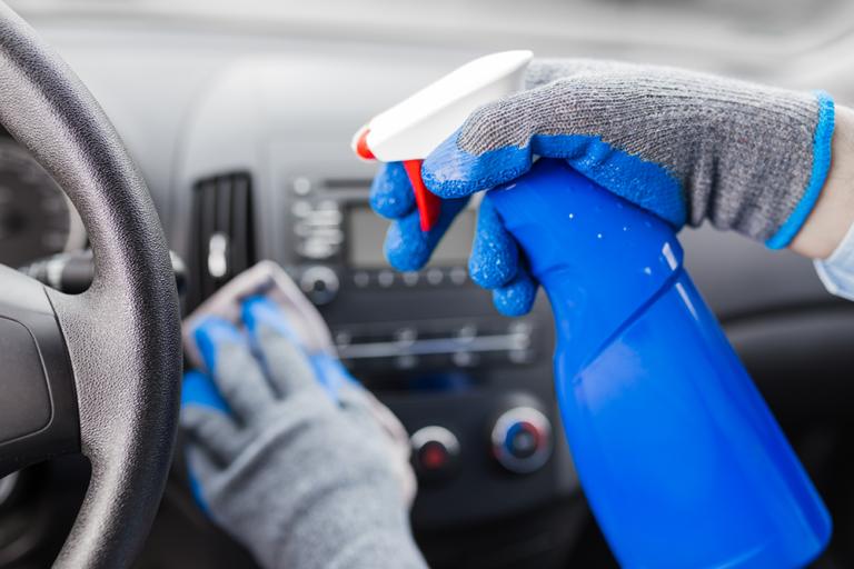 Covid-19: Como higienizar o seu automóvel?