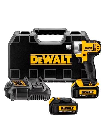 Chave de Impacto 1/2´´ à Bateria 20V 220V DCF880L2-B2 - Dewalt