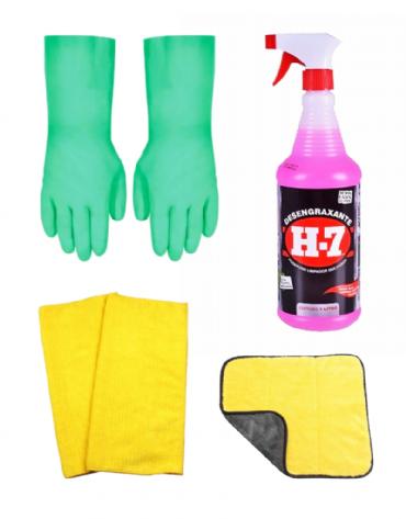 Kit Desengraxante Limpeza Pesada