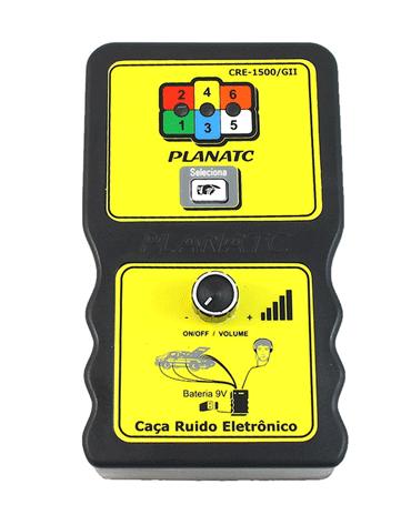 Caça Ruído Eletrônico com 6 Microfones - CRE-1500/GII - Planatc