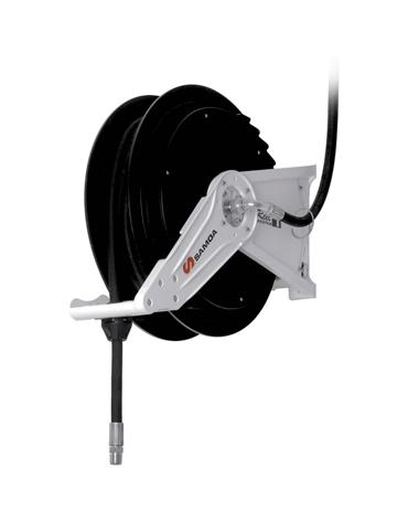 Carretel Automático com Base Simples para Óleo Lubrificante / Água / Ar - Lupus