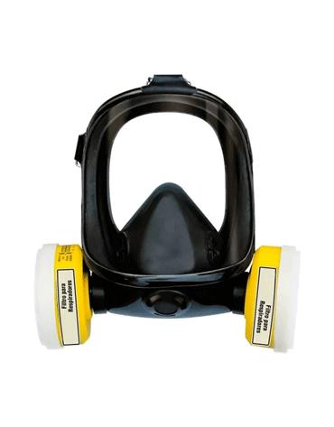 Combo EPIs com Máscara de Face Inteira + Par de Filtros para Vapores Orgânicos