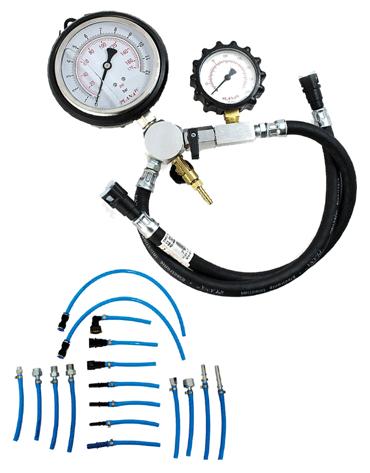 Equipamento de Teste de Pressão / Vazão com 17 Mangueiras - Planatc