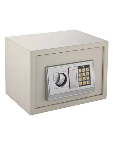 Cofre Eletrônico com Teclado em Chapa de Aço - Kala