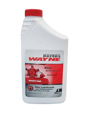 Waynoil Óleo Lubrificante para Compressores de Ar 1 LITRO - Schulz
