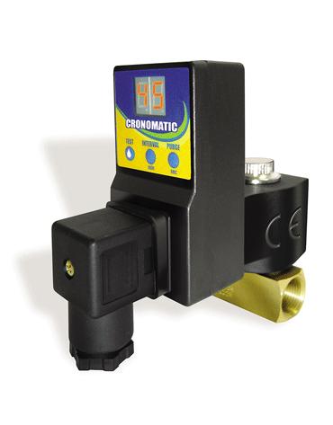 Purgador Eletrônico para Compressores com Temporizador - Metalplan