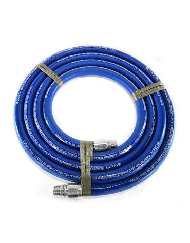 Mangueira Azul para Gasolina ou Diesel 3/4 5M - Terminais em Alumínio