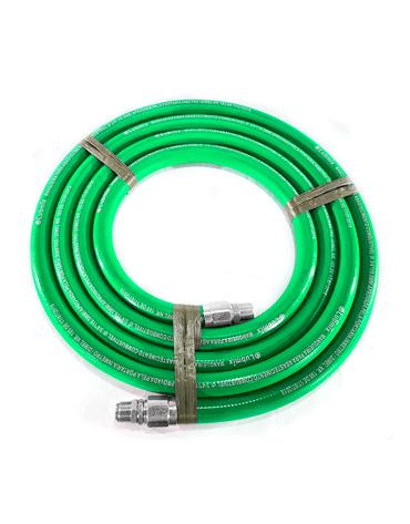Mangueira Verde para Etanol 3/4 5M - Terminais em Alumínio - Lubmix