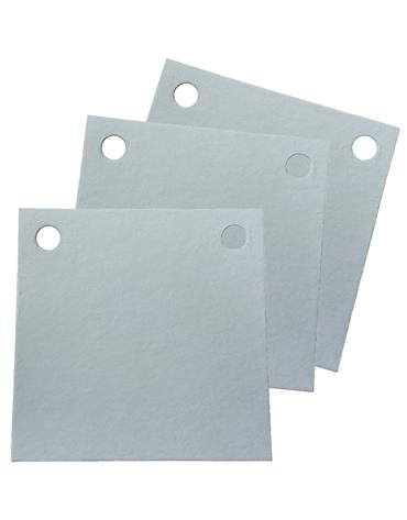 Papel Filtrante Quadrado 2 Furos 7x7 - Caixa com 10kg - LEONE