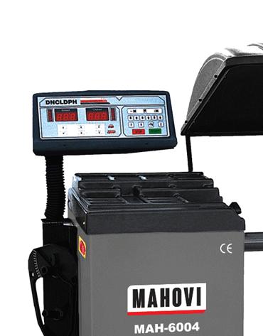 Balanceadora de Pneus para Caminhão/Ônibus com Acionamento Motorizado Aro 10 à 24 MAH-6004 - Mahovi