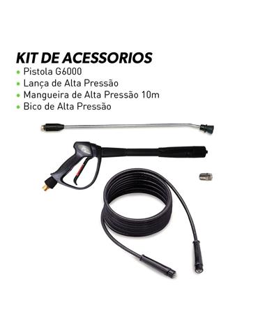 Lavadora de Alta Pressão Água Quente 2600 psi 220V Trifásico - IPC Brasil