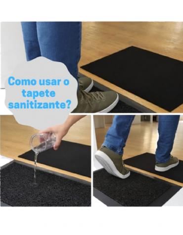 Kit Tapete Sanitizante + Tapete Secante