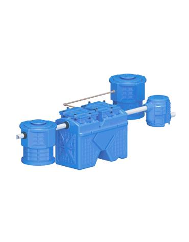 Caixa Separadora de Água e Óleo ZP-2000 - Hydro Z / Zeppini