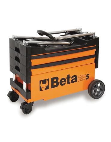 Carro Tipo Trolley com Jogo de 61 Ferramentas Para Uso Geral - C27S - Beta