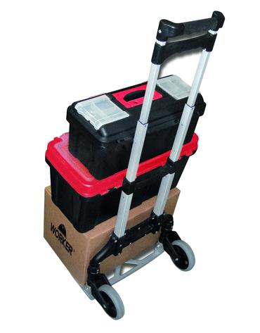Carrinho Dobrável para Transporte Capacidade 70Kg - WORKER