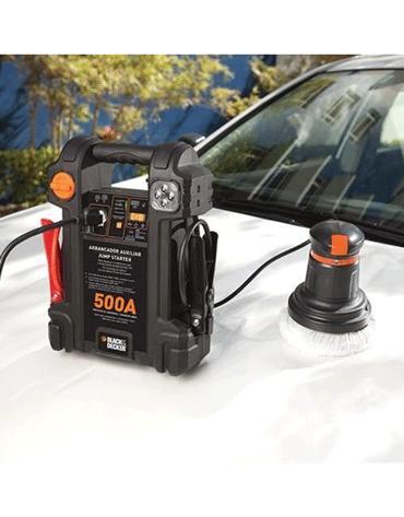 Auxiliar De Partida 500 Amperes 12 Volts Bivolt Js500s - Black+Decker