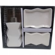 KIT DISPENSER DE PORCELANA LUXO