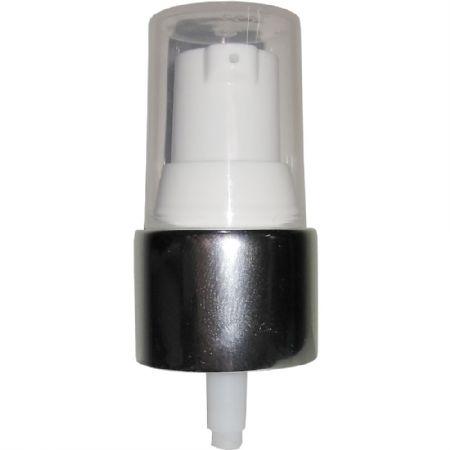VÁLVULA PUMP MAQUIAGEM BRANCO COM PRATA R20/410 - BASE MAC