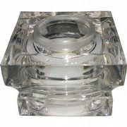 TAMPA DIFUSOR PIAZZA R28 GLASS TRANSPARENTE
