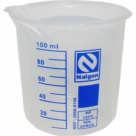 BECKER DE PLASTICO (PP) - 100ML - NALGON