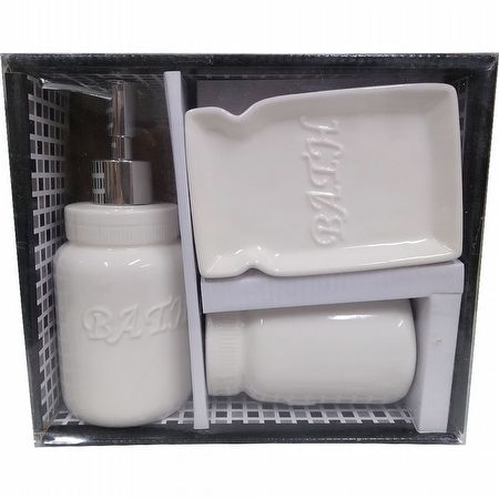 KIT DISPENSER DE PORCELANA BATH