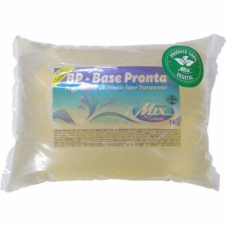BASE PRONTA PARA SABONETE GLICERINADO SUPER TRANSPARENTE 1KG