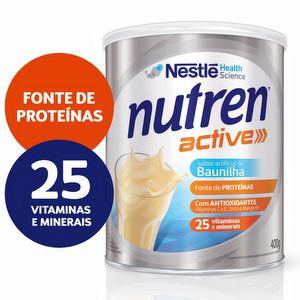 NUTREN ACTIVE BAUNILHA 400G