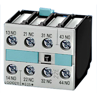 Bloco Contator Auxiliar 3rh19 21-1ca01 1nf S0/3 - 3rh19 211ca01 - Siemens
