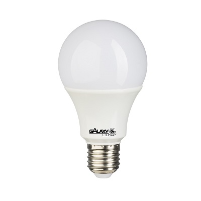 Lâmpada Led Bulbo 9w E27 6500k Luz Branca Fria Bivolt, Galaxy