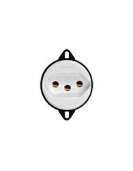 Tomada 2p+ T Para Piso Padrão 20a Branco Redondo - 24074 - Transmobil