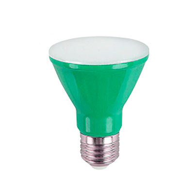 Lâmpada Led Par20 6w Bivolt Verde - Ourolux