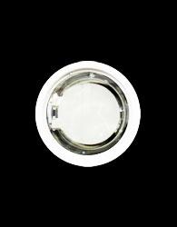 Luminaria de Embutir Redonda Para 2 Lampadas de 26w E27 Vidro Jateado - 468 Vj E27 - Spot Jaguara
