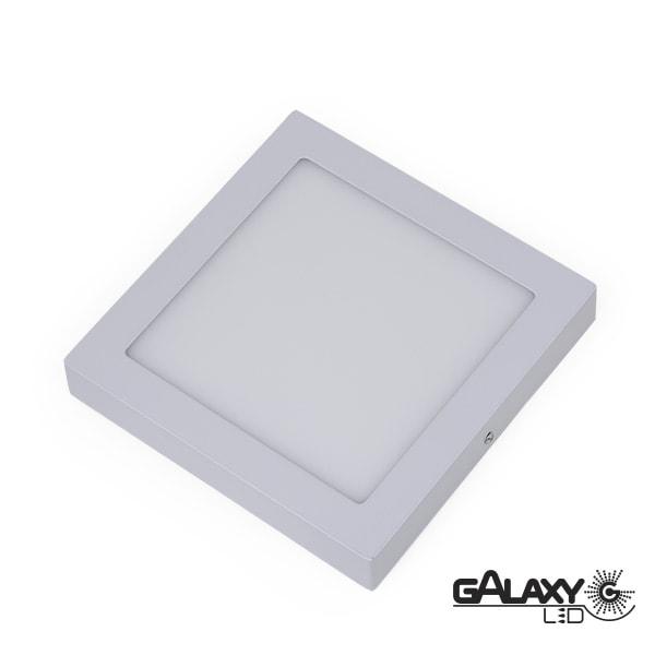 Painel Led Quadrado de Sobrepor 3w 8,5x8,5cm 6000k Luz Branca Fria 300 Lúmens 140125002 Galaxy