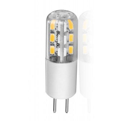 Lâmpada LED Bipino G4 1,5W 12V Luz Amarela - Brilia