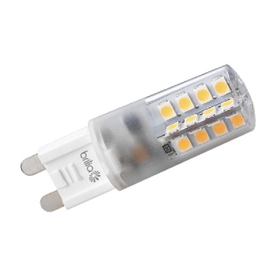 Lâmpada Super Led Mini 3w 127v 2700k G9 Encap 170lm Cert