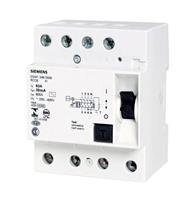 Disjuntor Dr 80a 4 Polos 30ma - 5sm13470 - Siemens