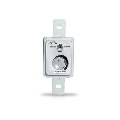 Controle Dimmer/estrobo Embutir 12v/24v 6a - Iluctron