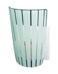 Arandela Calha Coni 175x100x80mm Para 1 Lampada E-27 - 469 Silkada - Emalustres